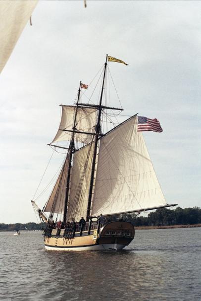 Schooner Sultana 1769