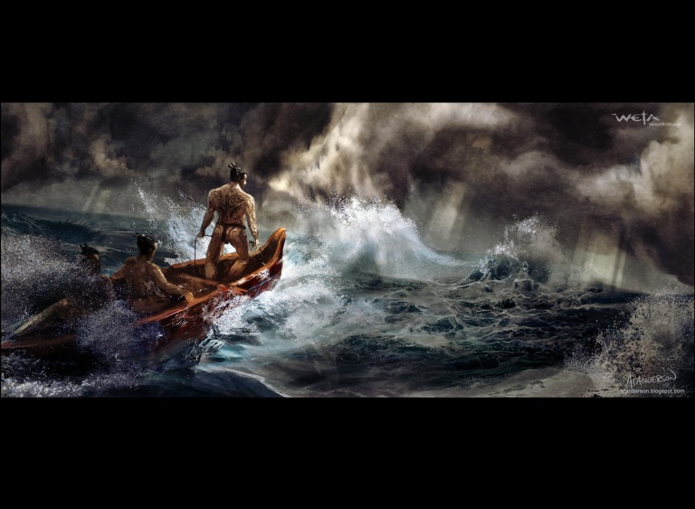 Image result for maui mythology images