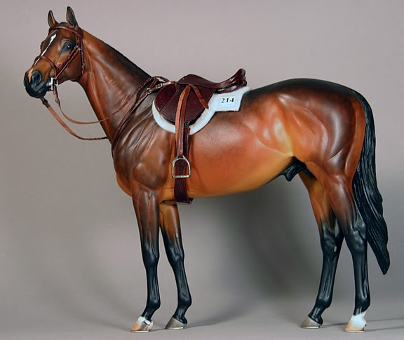 Image result for breyer model english tack