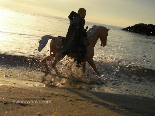 "Johhny West ""Flame"" model at Rock Hall beach"