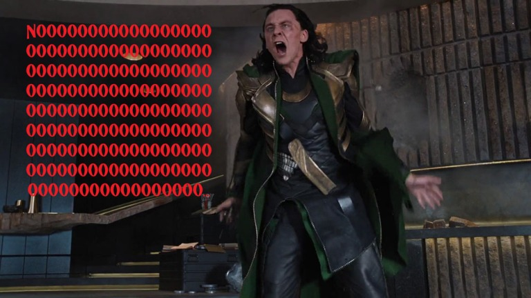loki scream NOOOOOO
