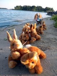 some mermaids prefer bunny sleds...